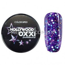 OXXI HOLLYWOOD Gel 03 Фиолетово-голубой (Окси Голливуд) фото | PRO-VSE