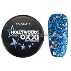 OXXI HOLLYWOOD Gel 12 Синий 5г (Окси Голливуд) фото | PRO-VSE