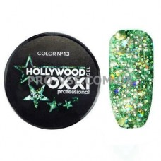 OXXI HOLLYWOOD Gel 13 Зеленый 5г (Окси Голливуд) фото | PRO-VSE