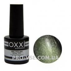 Гель-лак Oxxi Moonstone Лунный камень № 5 (Зеленый, магнитный) 10 мл, фото в работе - PRO-VSE