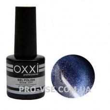 Гель-лак Oxxi Moonstone Лунный камень № 10 (Синий, магнитный) 10 мл, фото в работе - PRO-VSE