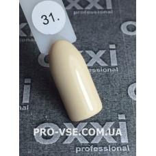 Гель-лак Oxxi № 031 (бледный желтый, эмаль), фото в работе | PRO-VSE