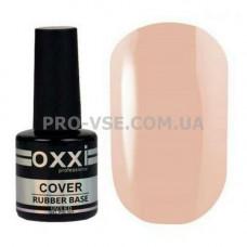Oxxi COVER BASE № 06 (камуфлирующая каучуковая база), Розово-бежевый 10 мл | PRO-VSE