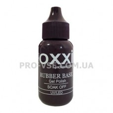 Oxxi GRAND rubber base каучуковая база 30 мл |узкая банка| фото | PRO-VSE