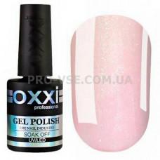 Oxxi COVER BASE № 08 камуфлирующая каучуковая база Розовая с серебряными блестками 10 мл | PRO-VSE