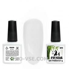 Гель-лак PANDA 011 (молочный белый) 8.7г