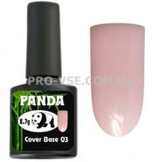 Камуфлирующая цветная база PANDA Cover Base 03 Светлая розово-бежевая 8.7 г фото