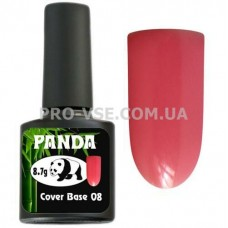 Фото Камуфлирующая цветная база PANDA Cover Base 08 Красный светлый