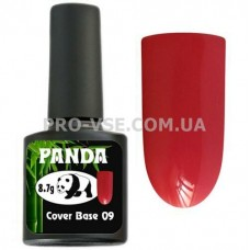 Фото Камуфлирующая цветная база PANDA Cover Base 09 Карминно-красная каучуковая 8.7 г