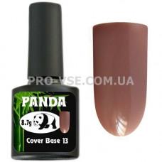 Фото Камуфлирующая цветная база PANDA Cover Base 13 Коричневая, кофе с молоком