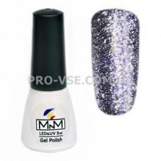 Гель-лак Бриллиантовый 205 Фиолетовый M-in-M 5 мл