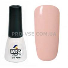 Гель-лак M-in-M E02 (014A) светлый бежево-розовый, камуфляжный 5 мл