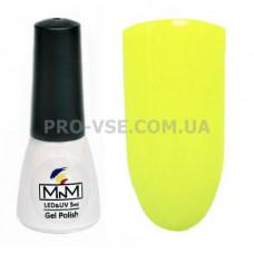 Гель-лак M-in-M B03 (022) лимонный желтый 5 мл