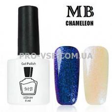 Гель-лак MB Chameleon Хамелеон 01 фиолетово-синий 8 мл