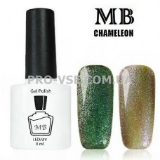 Гель-лак MB Chameleon Хамелеон 02 красно-зеленый 8 мл
