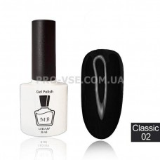 Гель-лак MB Classic-02 Черный 8 мл фото | PRO-VSE