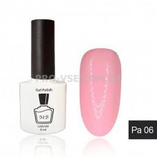 Гель-лак MB Pa-06 Pastel Collection темный розово-бежевый, эмаль 8 мл фото | PRO-VSE