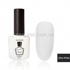 Гель-лак MB (МВ) Ultra white Ультра белый, эмаль 8 мл фото | PRO-VSE