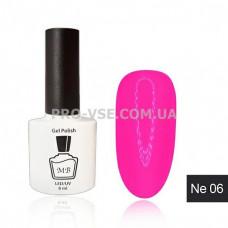 Гель-лак MB Ne-06 светлый розовый неоновый Neon Collection, 8 мл фото   PRO-VSE