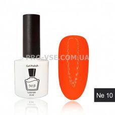 Гель-лак MB Ne-10 оранжевый неоновый Neon Collection, 8 мл фото   PRO-VSE