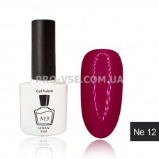 Гель-лак MB Ne-12 красно-пурпурный Neon Collection, 8 мл фото   PRO-VSE