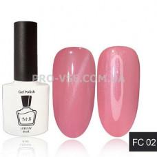 Гель-лак MB FС-02 Темный розовый French CatEye Collection 8 мл фото   PRO-VSE