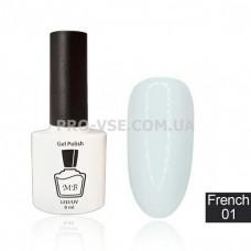 Гель-лак MB Fr-01 Молочный белый French Collection 8 мл фото | PRO-VSE