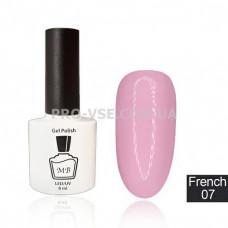 Гель-лак MB Fr-07 Розовый French Collection 8 мл фото | PRO-VSE