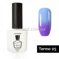 Гель-лак MB Termo 05 голубо-фиолетовый 8мл МВ термо, отзывы, обзор | PRO-VSE