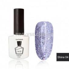 Гель-лак МВ Sh-04 Сиреневый Shine collection 8 мл фото ногти   PRO-VSE