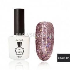 Гель-лак МВ Sh-05 Лилово-розовый Shine collection 8 мл фото ногти   PRO-VSE