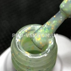 Гель-лак MB Donut 002 Зеленый (цветная крошка) 8мл фото | PRO-VSE
