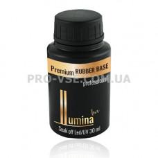 LUMINA lux Rubber base каучуковая база для гель-лака 30мл фото | PRO-VSE
