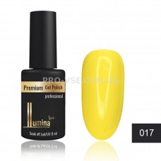 Гель-лак LUMINA lux №017 желтый, эмаль 8мл фото ЛЮМИНА люкс | PRO-VSE