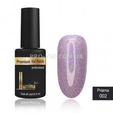 Гель-лак LUMINA lux PRIZMA №2 розовый, голограмма 8мл фото ЛЮМИНА люкс | PRO-VSE
