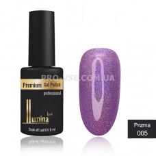 Гель-лак LUMINA lux PRIZMA №005 сиреневый, голограмма 8мл фото ЛЮМИНА люкс | PRO-VSE