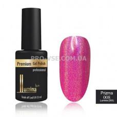 Жидкий пигмент LUMINA lux PRIZMA №008 малиново-розовый, эффект призмы 8мл фото ЛЮМИНА люкс | PRO-VSE