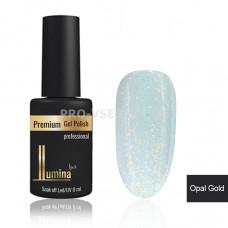 Гель-лак LUMINA lux OPAL GOLD, блестки 8мл фото ЛЮМИНА люкс | PRO-VSE