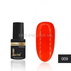 Гель-лак LUMINA lux MINI №09 красный, неоновый 3мл фото ЛЮМИНА люкс   PRO-VSE