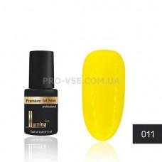 Гель-лак LUMINA lux MINI №011 кукурузный желтый, эмаль 3мл фото ЛЮМИНА люкс   PRO-VSE