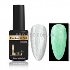 Гель-лак Fashion Cat Luminous 001 серебро Lumina Lux, люминесцентный магнитный 8мл фото ЛЮМИНА люкс | PRO-VSE