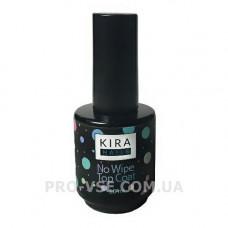 Топ, закрепитель для гель-лака Kira Nails No Wipe Top Coat без липкого слоя 15 мл