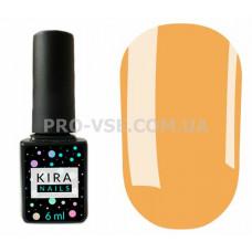 Гель-лак Kira Nails 022 оранжево-бежевый, эмаль 6 мл