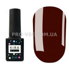 Гель-лак Kira Nails 039 темный бордовый, эмаль 6 мл