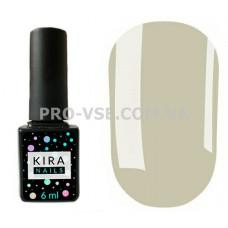 Гель-лак Kira Nails 066 голубиный серый, эмаль 6 мл