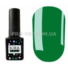 Гель-лак Kira Nails 078 светлый зеленый, эмаль 6 мл