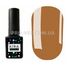Гель-лак Kira Nails 117 светлый коричневый, молочный, эмаль 6 мл