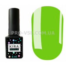 Гель-лак Kira Nails 125 светлый оливково-зеленый, эмаль 6 мл