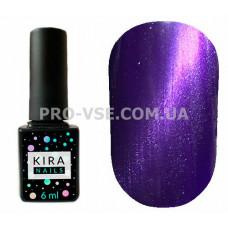 Гель-лак Kira Nails Cat eye 006 фиолетовый магнитный 6 мл