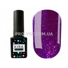 Гель-лак Kira Nails 24 Karat 011, насыщенный микроблеск 6 мл фото ногти | PRO-VSE